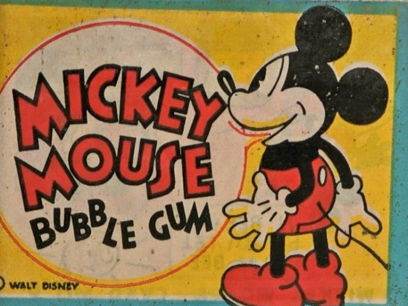 Mickey Mouse Gum Inc.1935 wax pack