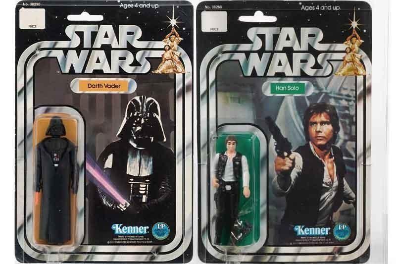 Darth Vader and Han Solo