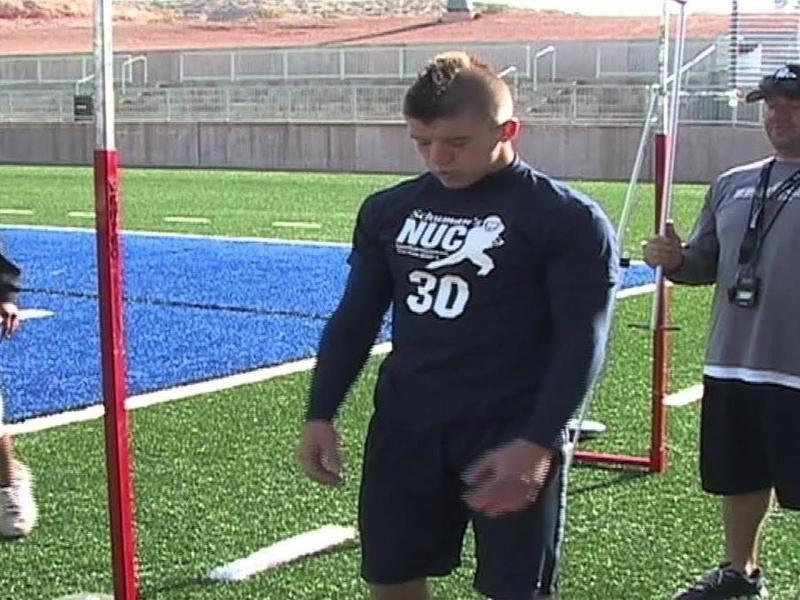 Ruidoso High wide receiver Parker Johnson