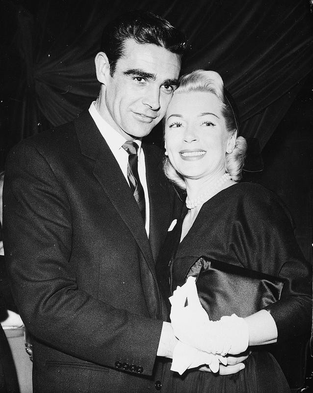 """Sean Connery and Lana Turner in """"Another Time, Another Place"""""""