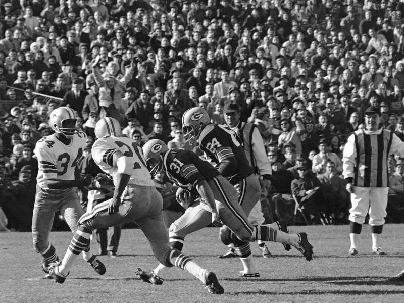 Jerry Kramer against the Dallas Cowboys