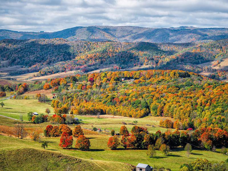 Autumn in Highland County, Virginia