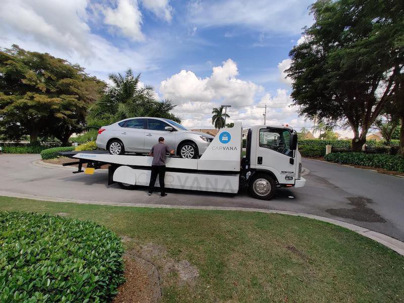 Carvana delivery day