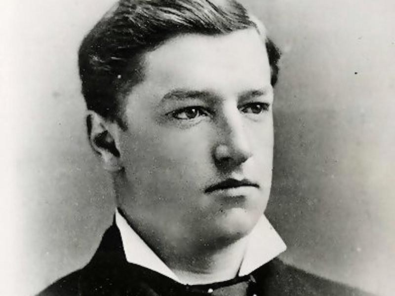 William H. Taft as a young man