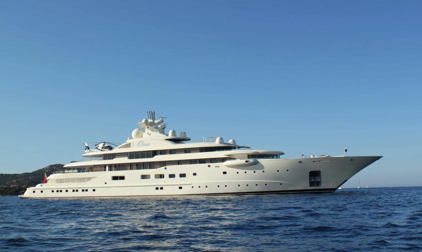 Al Raya yacht (formerly Ona)