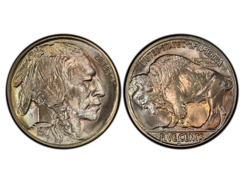 1917-S Buffalo Nickel