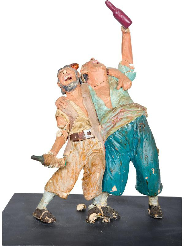 Pirates of the Caribbean 1960s statue