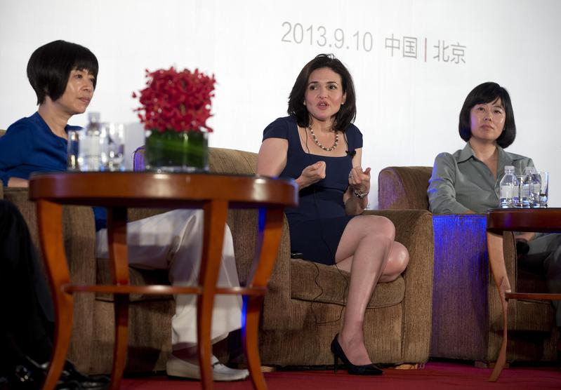 Sheryl Sandberg Women in Leadership and the Future of Online Business