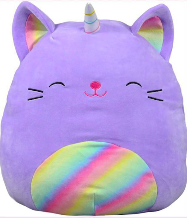 Cienna the Purple Rainbow Caticorn