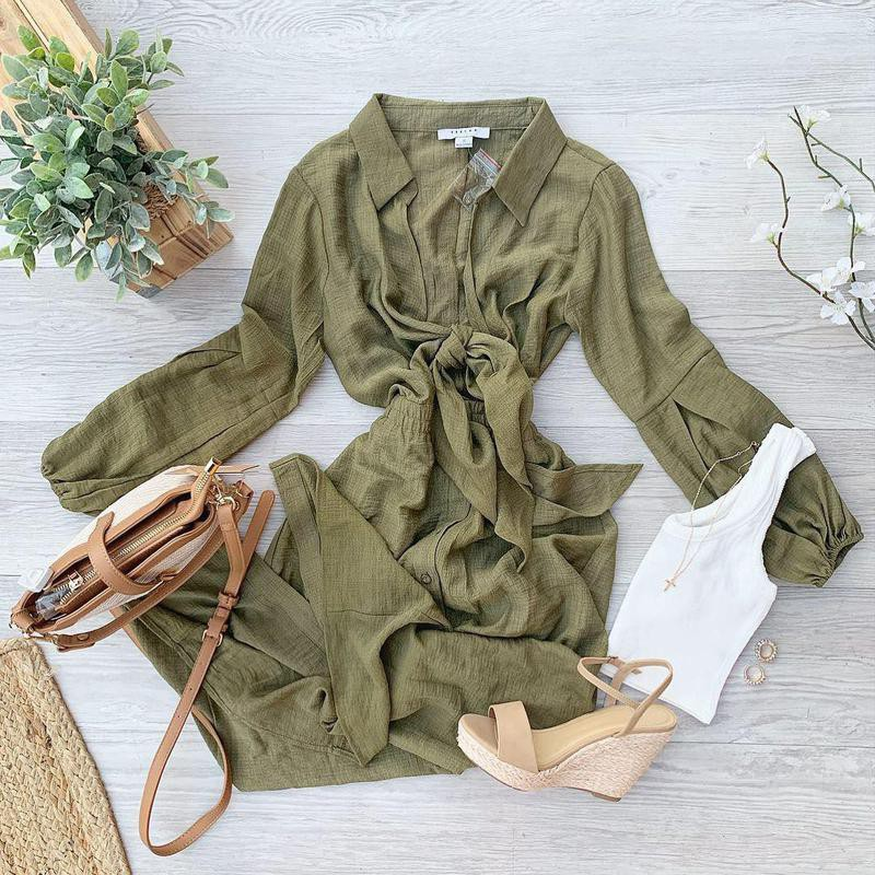 Willow green summer style