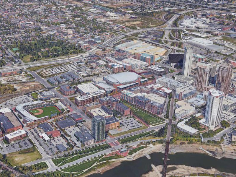Columbus's Arena District Ohio