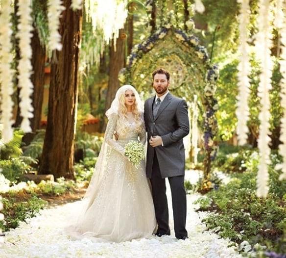 Sean Parker and Alexandra Lenas wedding