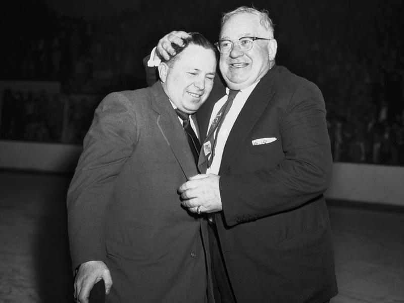 Jim Skinner and Jack Adams
