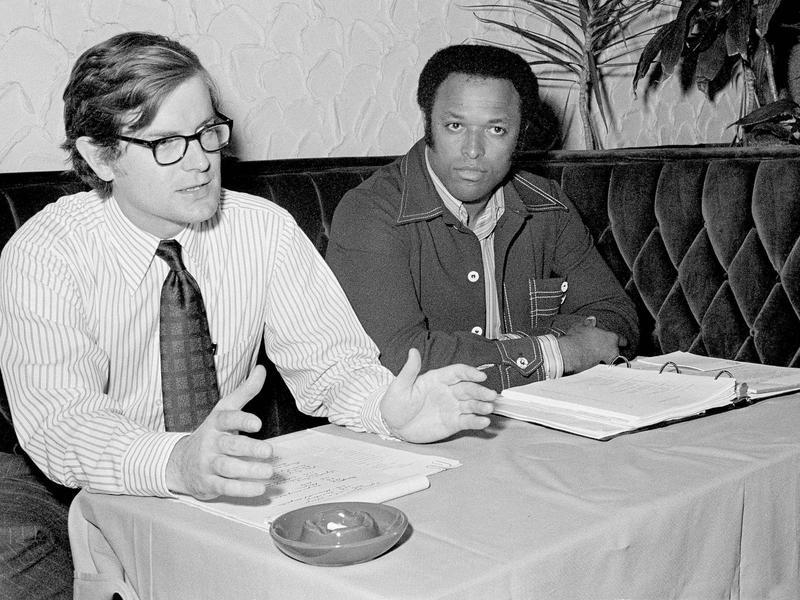 Ed Garvey and John Mackey