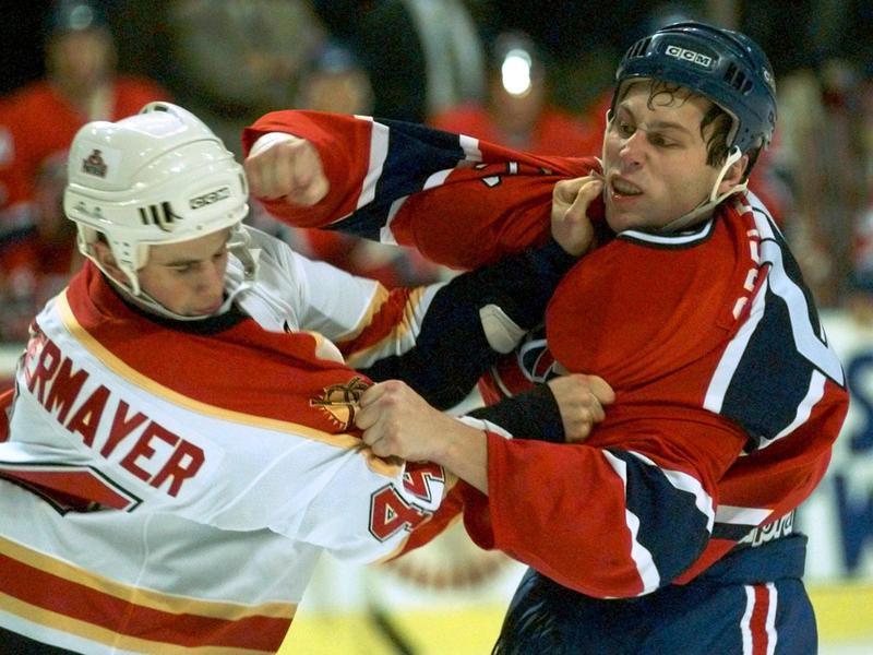 Montreal Canadiens defenseman Lyle Odelein