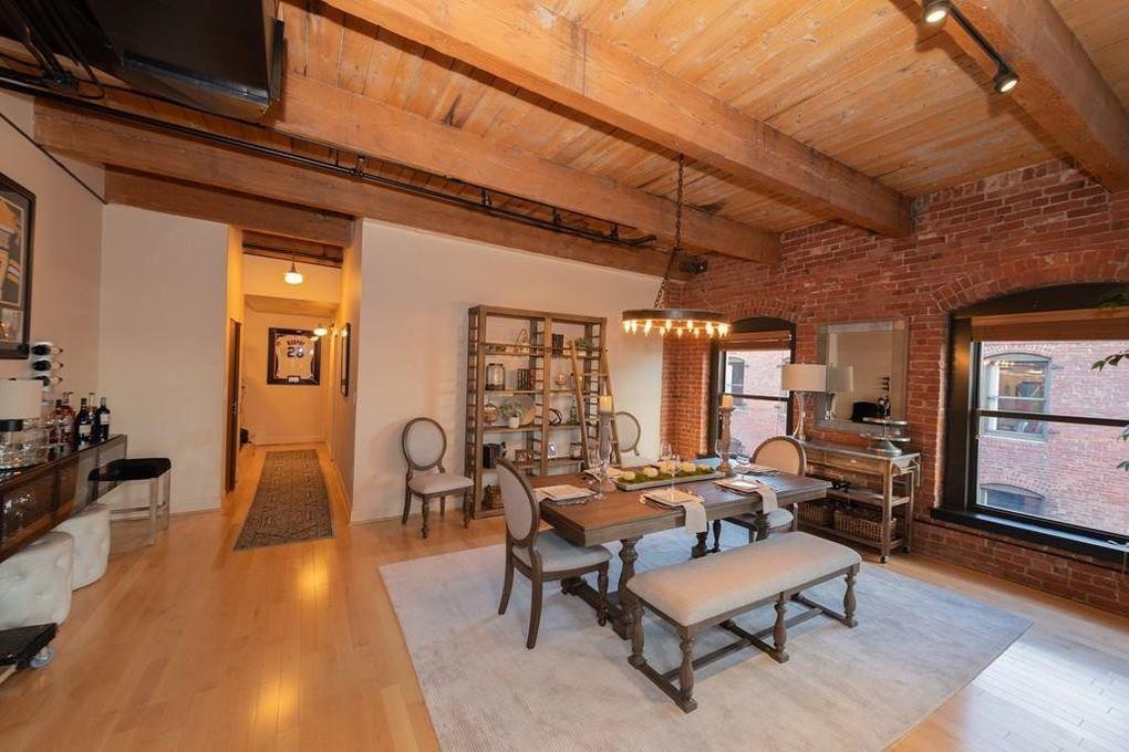 Rob Gronkowski's Boston loft