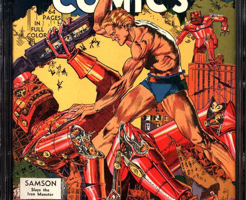 Fantastic Comics No. 3
