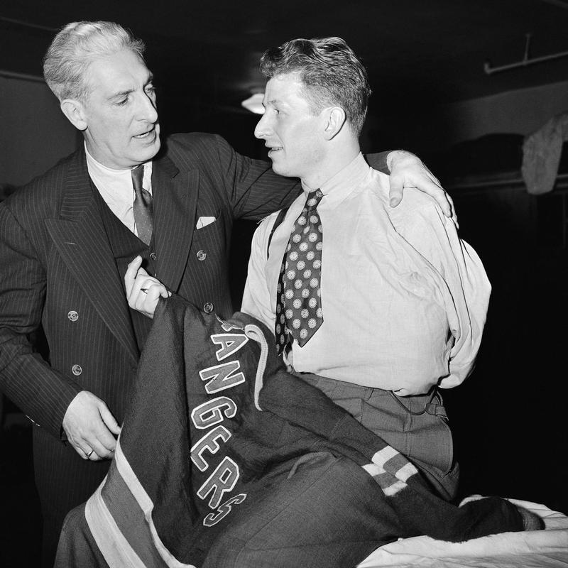 Lester Patrick and Ott Heller