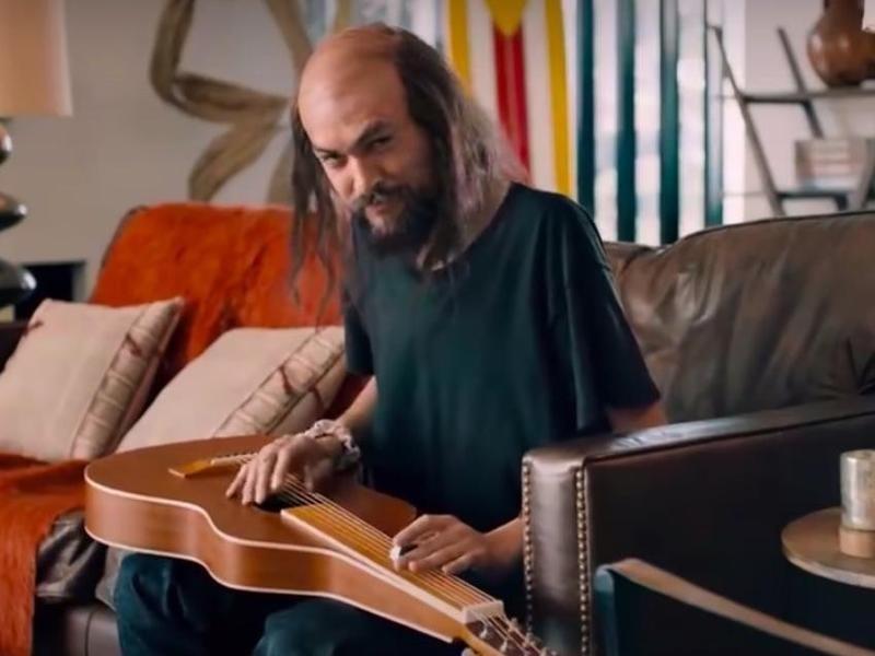 Rocket Mortgage Jason Momoa commercial in 2020