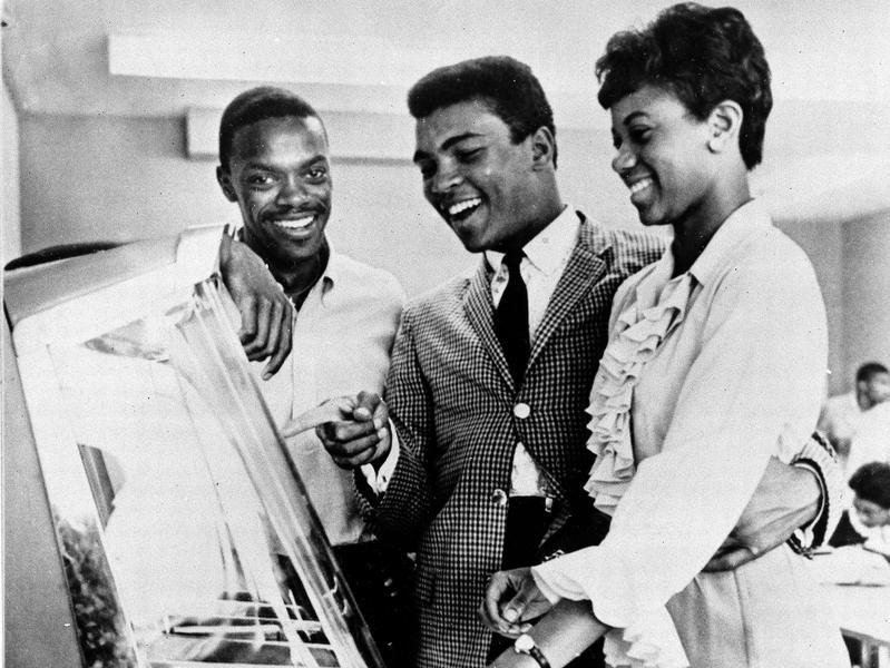 Muhammad Ali, Wilma Rudolph and Ralph Boston