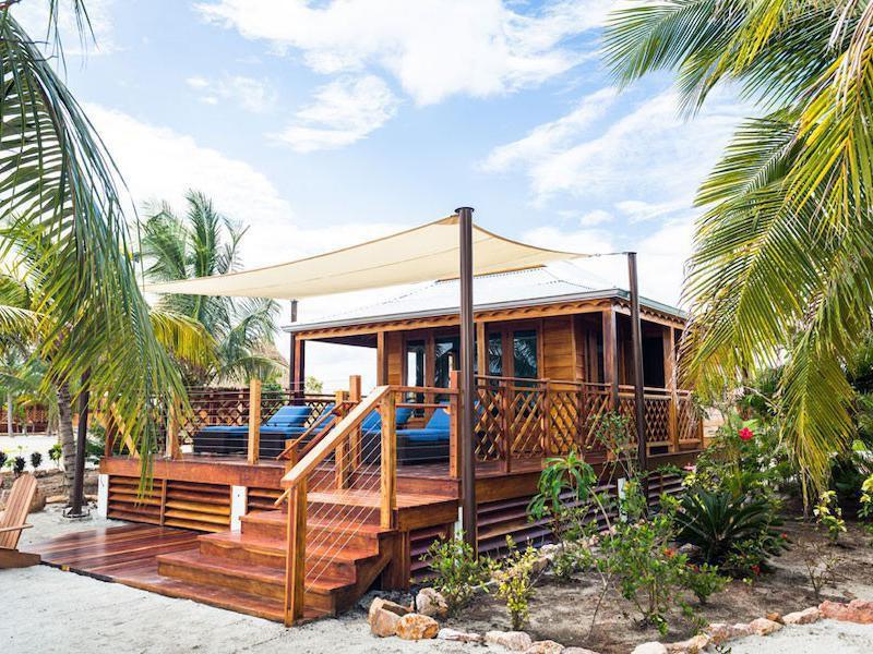 Harvest Caye Cabanas