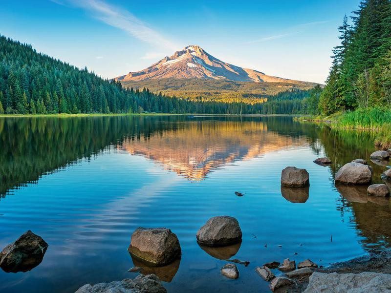 Trillium Lake and Mount Hood, Oregon