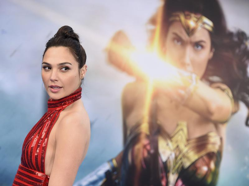 "Gal Gadot at the ""Wonder Woman"" Premier"