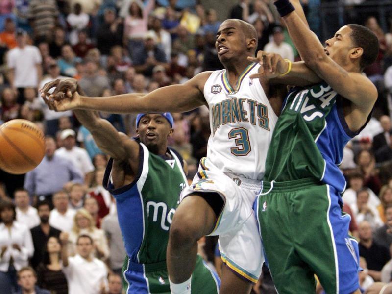New Orleans Hornets point guard Chris Paul