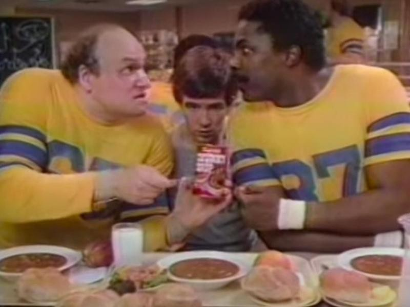 Campbell's Chunky Soup commercial in 1983