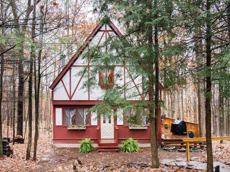 Woodland cabin in Pennsylvania