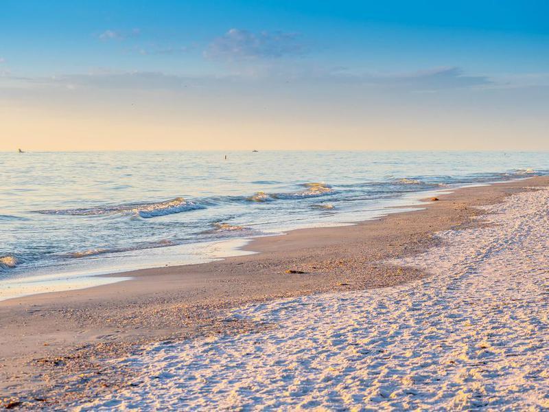 Anna Maria Island beach in Florida