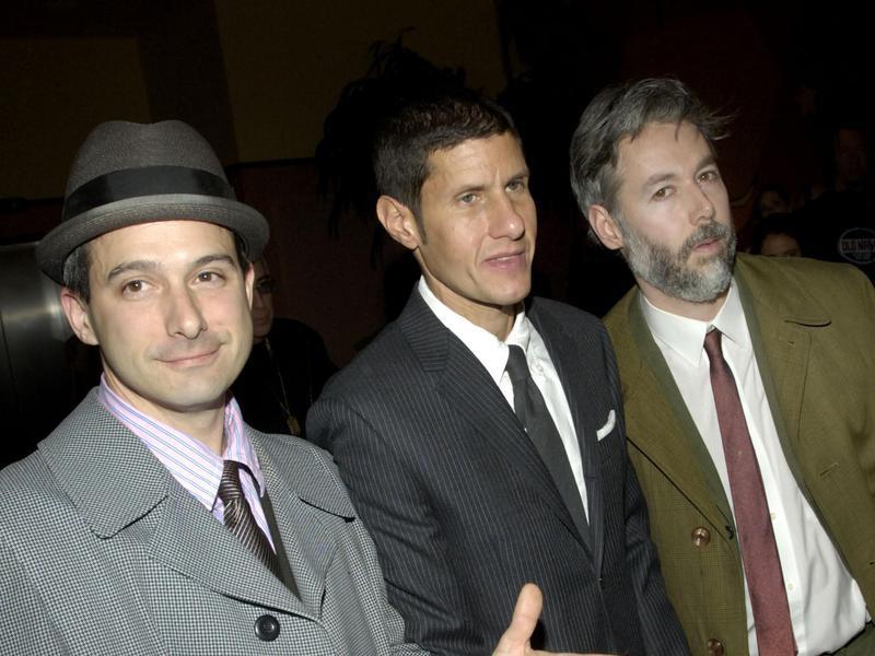 Adam Horovitz, Michael Diamond and Adam Yauch