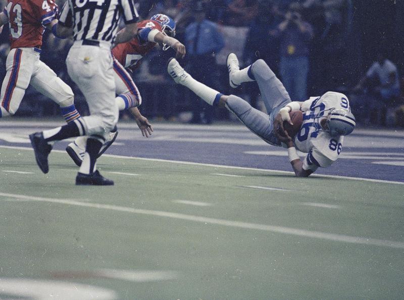 Butch Johnson in Super Bowl XII