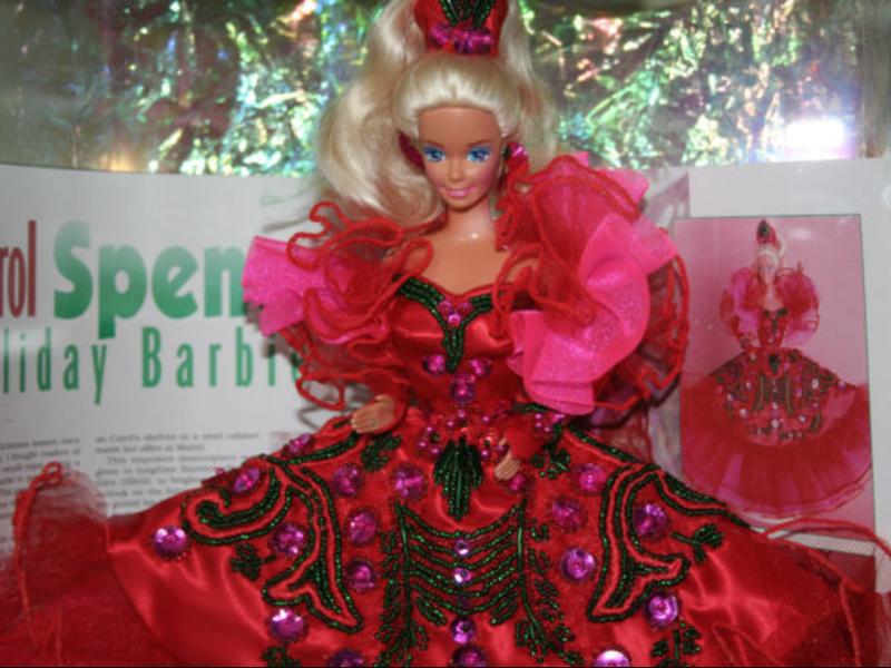 Carol Spencer Holiday Barbie