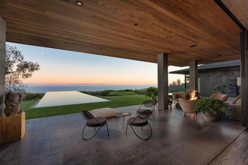 Ellen's home in Montecito