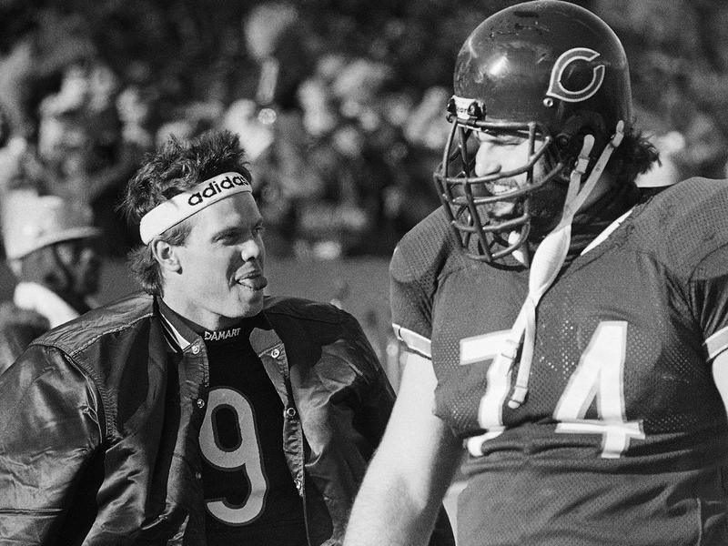 Jim McMahon and Jim Covert