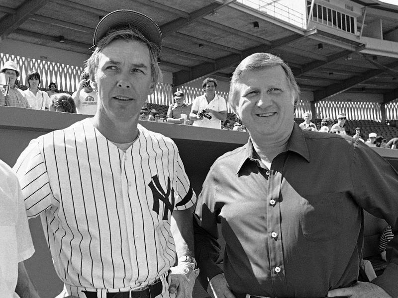 Gene Michael and George Steinbrenner