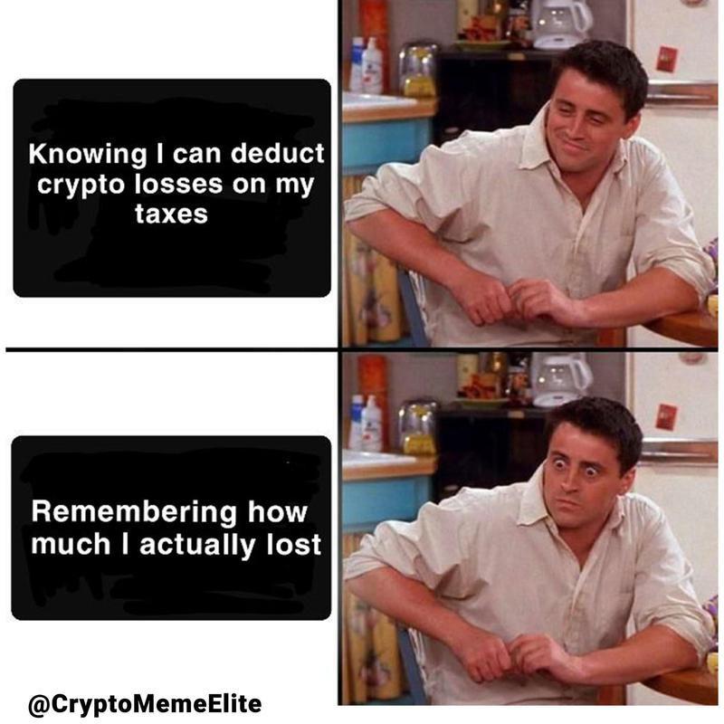 Crypto losses tax meme
