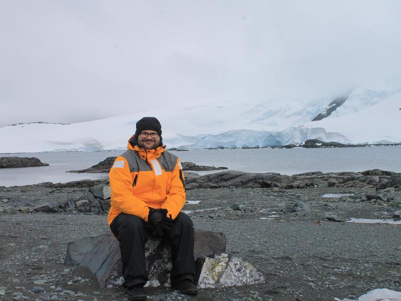 Antarctica Walking