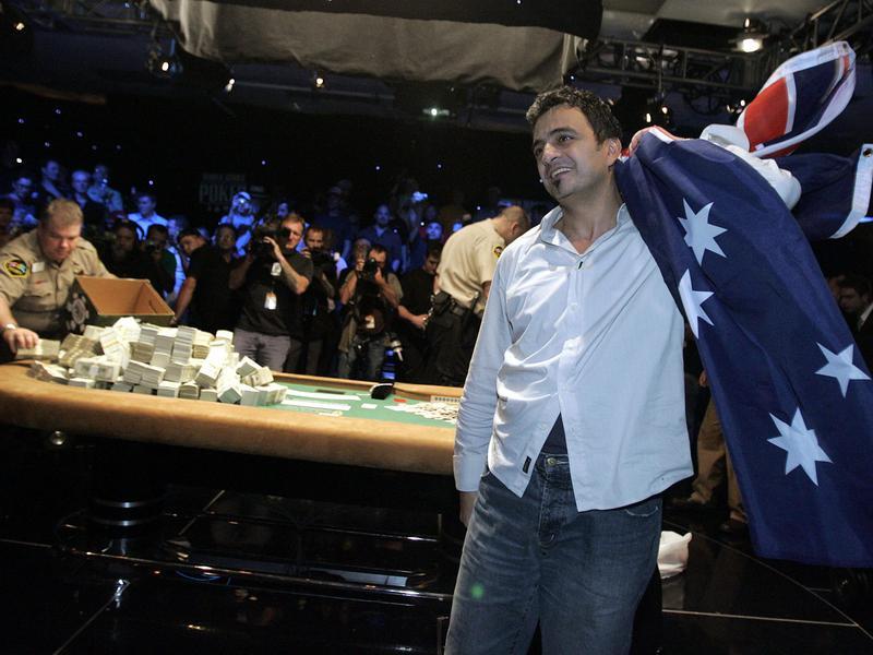 World Series of Poker winner