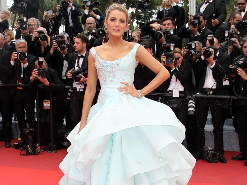 Blake Lively at Cannes in 2016