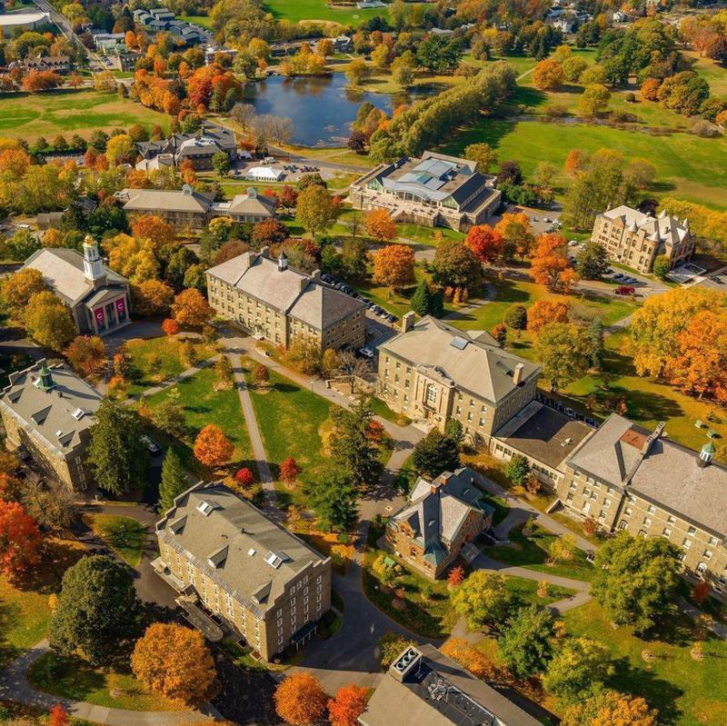 Colgate University in Autumn