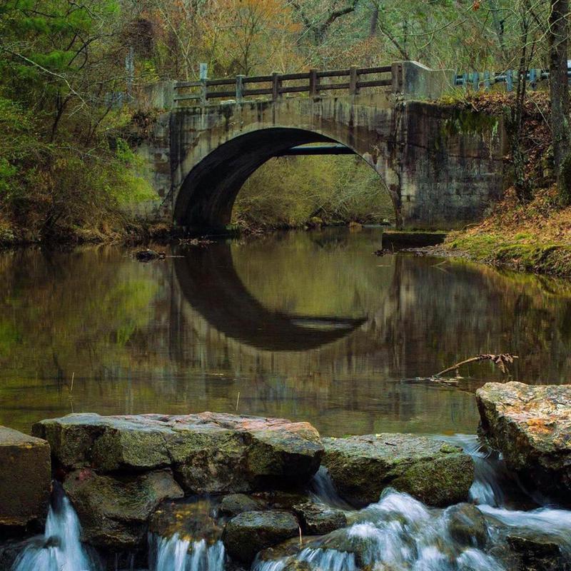 Bridge in Hot Springs National Park