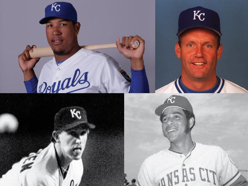 Kansas City Royals Mount Rushmore