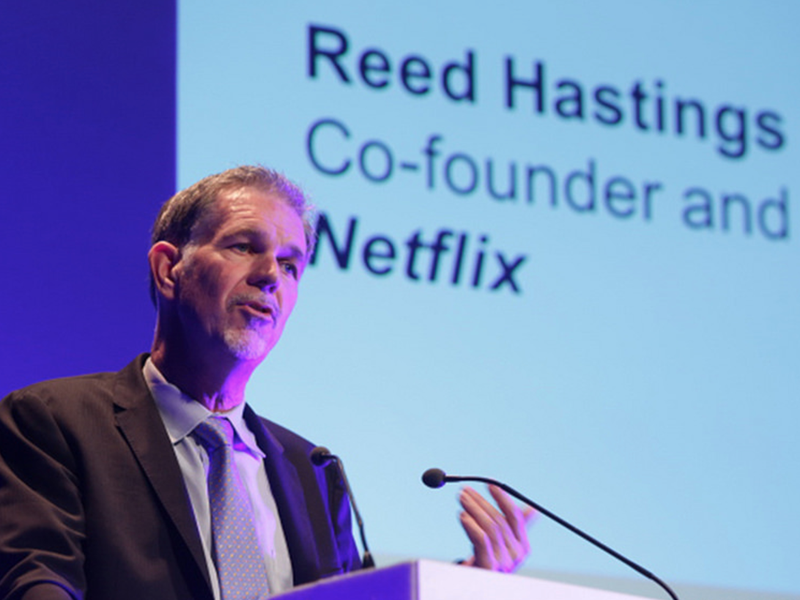 Cofounder of Netflix
