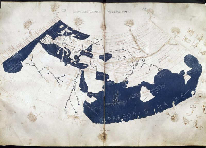 Ptolemy world map