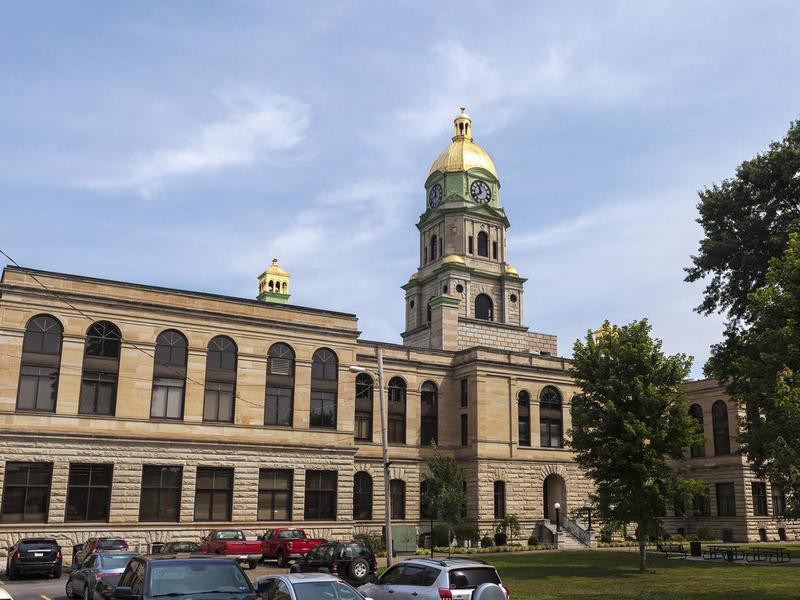 Cabell County Courthouse In Huntington, West Virginia