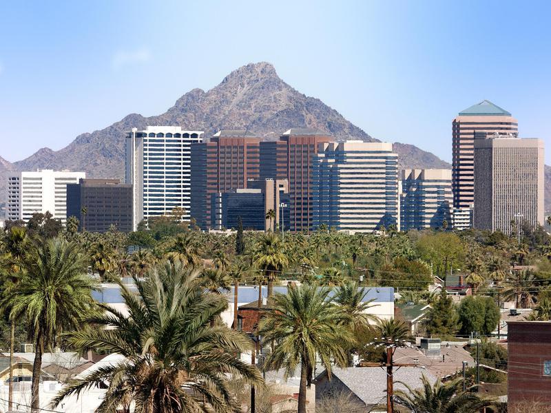 Phoenix, Arizona's cost of living is 5 percent below the U.S. norm.