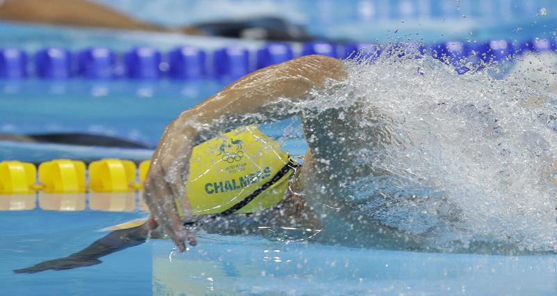 Kyle Chalmers in men's 100 freestyle in Rio