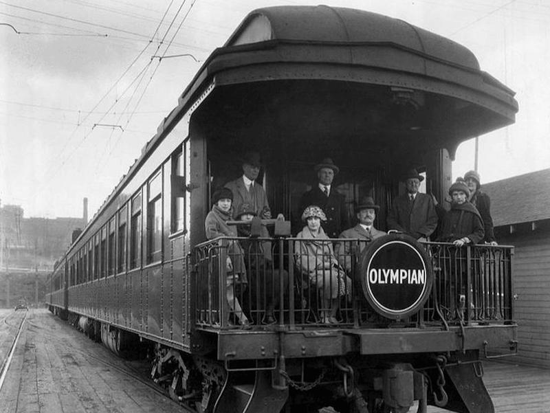 Milwaukee Road's Olympian Train